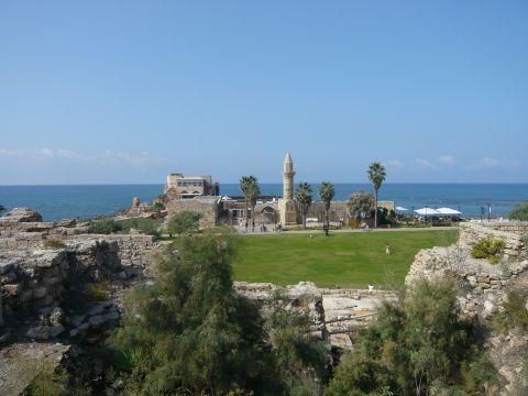イスラエル、カイザリヤの十字軍の砦
