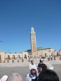 モロッコの空